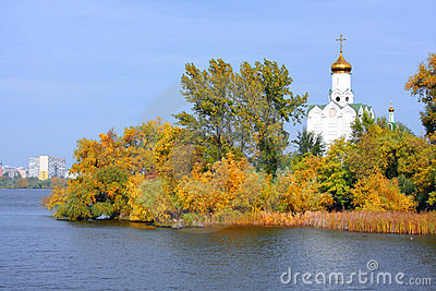 Church on the river
