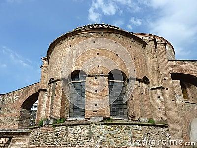 Church of the Rotunda in Salonica, Greece