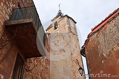 Church in Roussillon, France