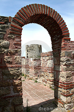 Church ruins in Nesebar