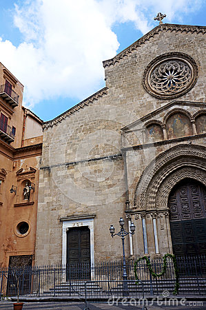 The church of Saint Francesco in Palermo,Sicily