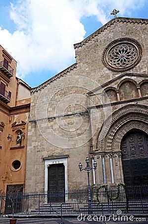 The church of Saint Francesco in Palermo,Sicily