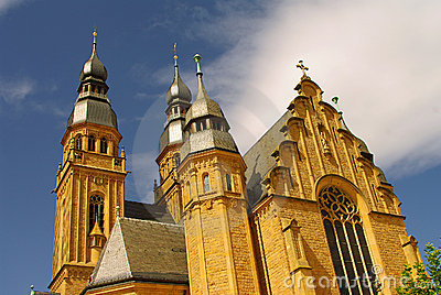 Church Of Saint Joseph In Speyer Stock Photos - Image: 15814853