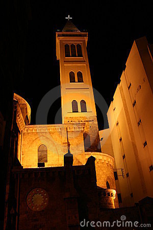 Church of Saint Louis in Downtown Beirut  Lebanon