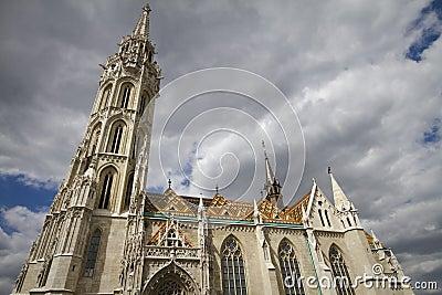 Church of saint matthias, budapest