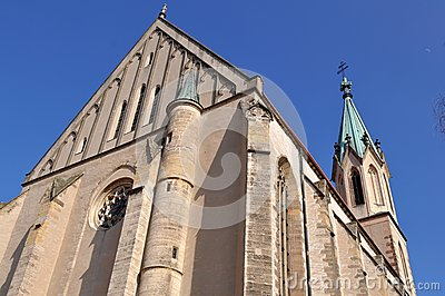 Church of Saint Maurice,Kromeriz world heritage si