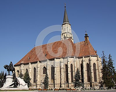 Church of Saint Michael in Cluj-Napoca (Romania)