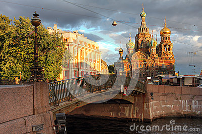 Church in Saint Petersburg, Russia