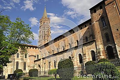 The Church of Saint Sernin