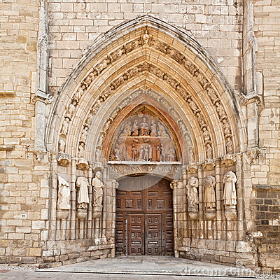 Church of Saint Stephen in Burgos, Spain