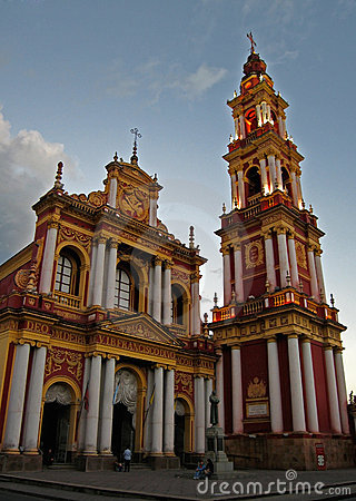 Free Church,Salta,Argentina Royalty Free Stock Photography - 2380337