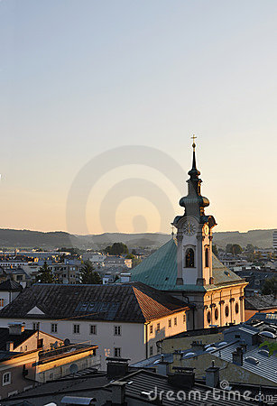 Church in Salzburg.