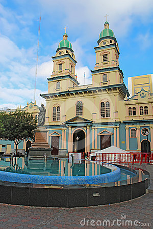 Church of San Francisco in Guayaquil, Ecuador