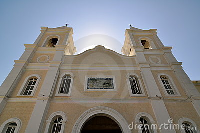 Church in San Jose Del Cabo Mexico