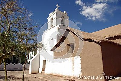 Church in San Pedro de Atacama - Chile
