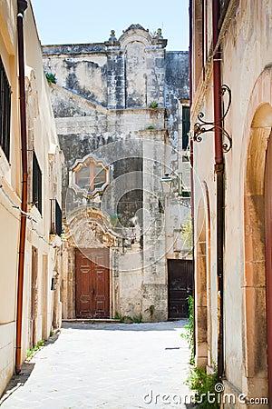 Church San Salvatore in Syracuse, Sicily