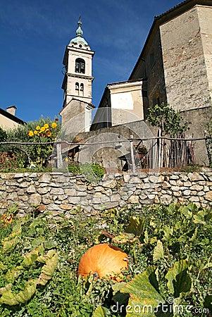 The church of Sant Abbondio at Gentilino