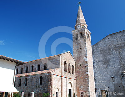 The Church of Santa Eufemia in Grado, Italy