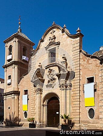Church of Santa Eulalia. Murcia