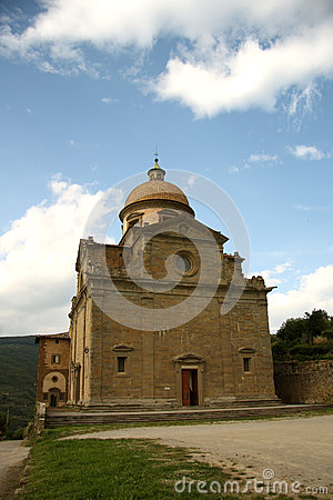 Church of Santa Maria Nuova in Cortona (Italy)