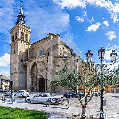 Free Church Santisimo Sacramento In Torrijos Stock Image - 71336251