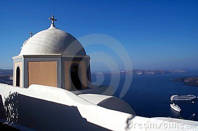 Church in Santorini 2