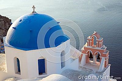 Church on Santorini island