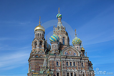 Church of the Savior on Blood at Petersburg,Russia