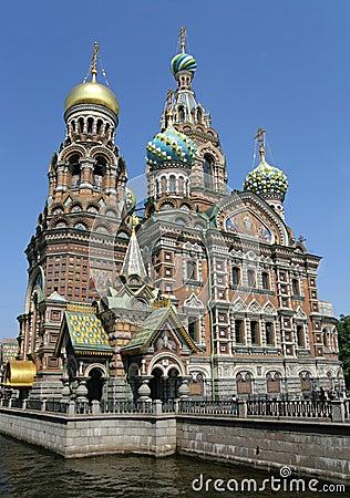 Church of the Savior on Blood. St. Petersburg