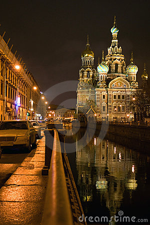 Church of savior on spilled blood St Petersburg