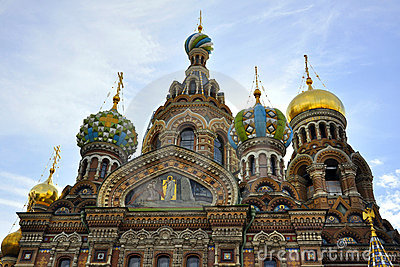 Church of Savior on Spilled Blood, St.Petersburg