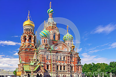 Church of the Saviour on Spilled Blood,Petersburg
