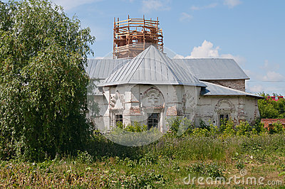 Church of the Saviour. Tobolsk. Siberia. Russia.