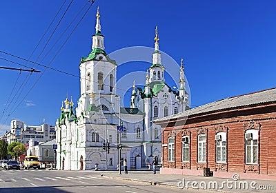 Church of the Saviour in Tyumen, Russia