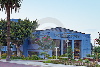 The Church of Scientology in Los Angeles Editorial Photo