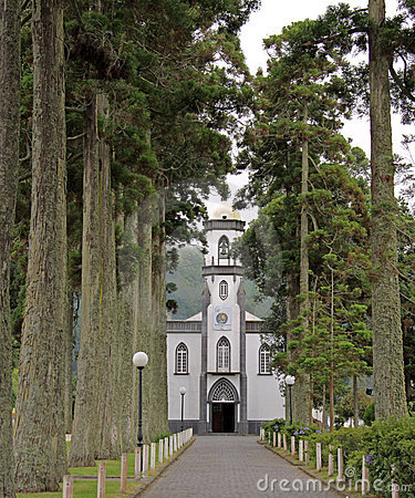 Church in Sete Cidades (Azores)