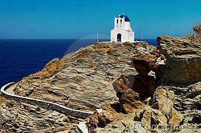 Church on Sifnos Island