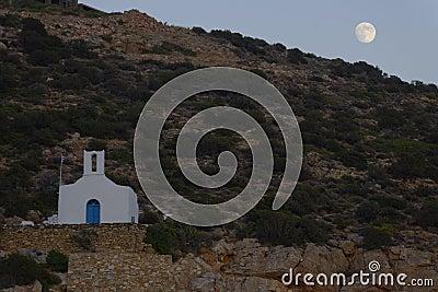Church on Sifnos island