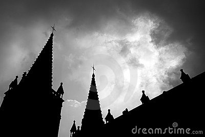 Church of the silhouette