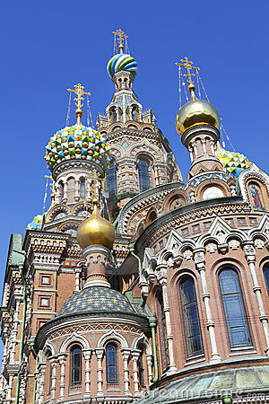 Church on Spilled Blood Russia