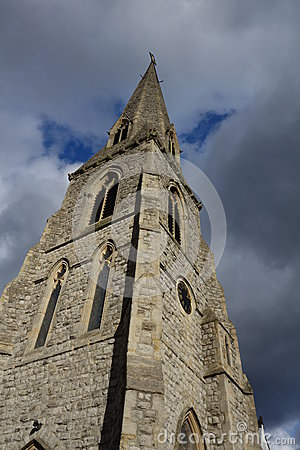 Free Church Spire Stock Image - 37775361