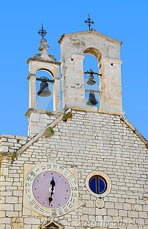 Church of St. Barbara at Sibenik, Croatia