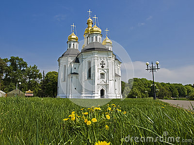 Church of St. Catherine in Chernigov, Ukraine.