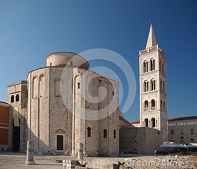 Church of st. Donat in Zadar, Croatia
