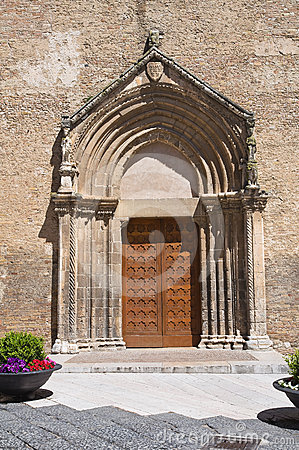 Church of St. Francesco. Lucera. Puglia. Italy.