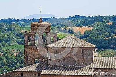 Church of St. Francesco. Orvieto. Umbria. Italy.