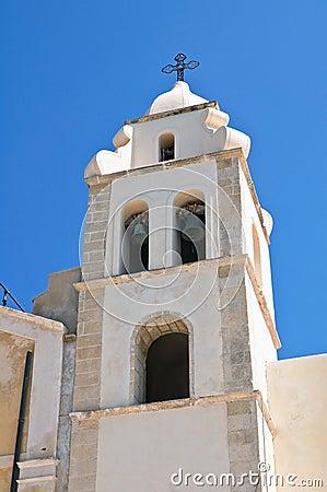 Church of St. Francesco. Vieste. Puglia. Italy.