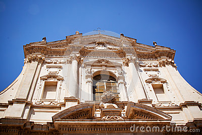 Church of St Irene, Lecce, Italy