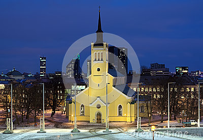 Church of St. John the Evangelist in Tallinn, Estonia
