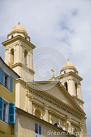 Free Church St. John The Baptist Bastia Corsica Stock Photography - 14577722